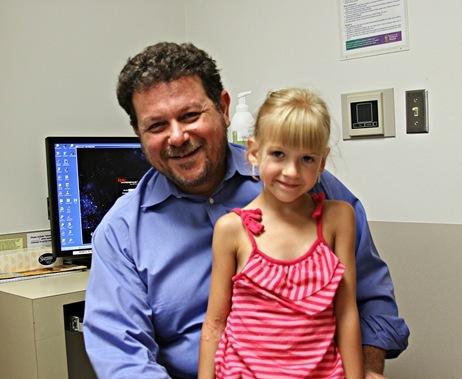 Ava and Dr. Shilyanski